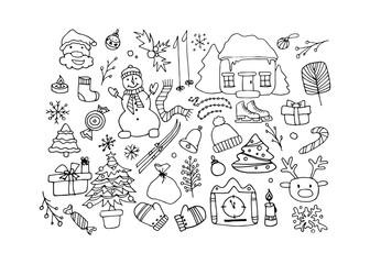Happy New Year, vector illustration