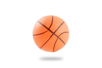 Plastic basketball ball