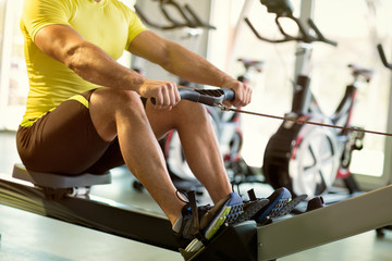 exercise on row machine