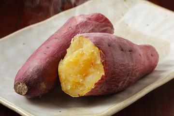 焼き芋 Baked sweet potato