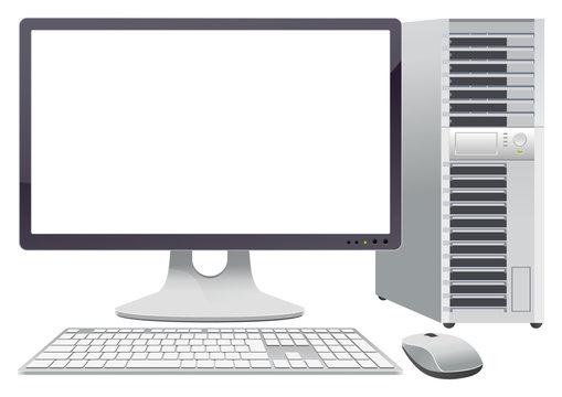 デスクトップパソコン画面なし