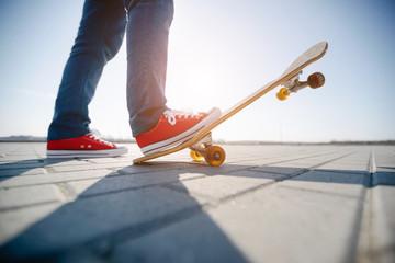 skater riding a skateboard