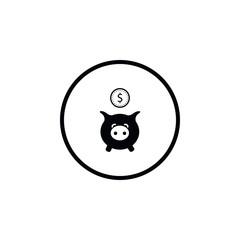 Icon Piggy Bank.