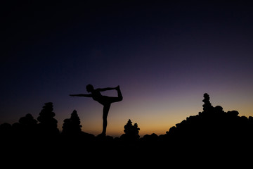 Oriental yoga session on Tenerife - Playa del Duque