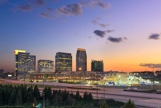 Atlanta Georgia Midtown skyline