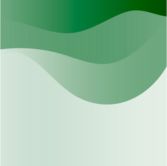 Light green background curve line, modern texture pattern for te