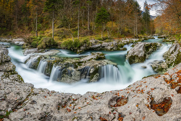 Autumn in Wonderland. Slovenian Mountains and National Park