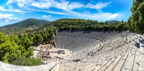 Fototapete - Epidaurus Amphitheater in Greece