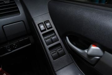 Door handle & Car window controls and details