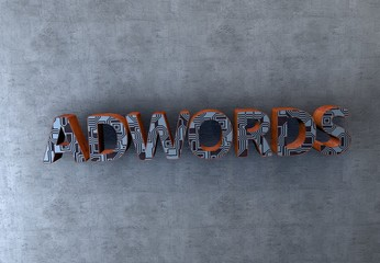 Adwords, 3D Typography