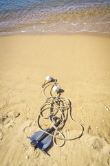 anchor at the beach