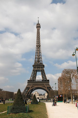 Eiffel Tower, Paris, France, Europe.