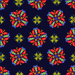 Royal Gift Present seamless pattern