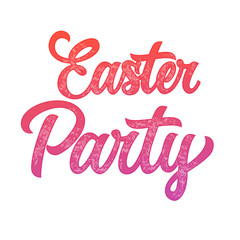 Easter Party inscription 3