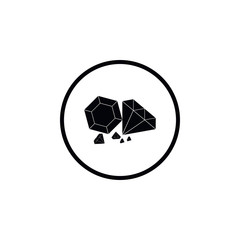 Icon for a few diamonds.