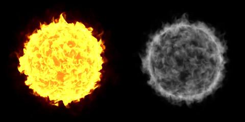 Fire Ball Sun