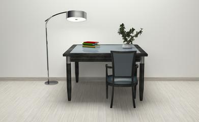 Workroom Simple and good look / 3d