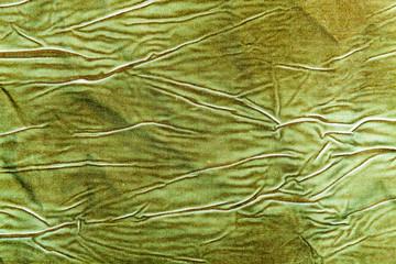 The background, texture of cotton khaki fabric