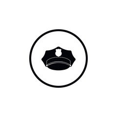 Police cap icon.