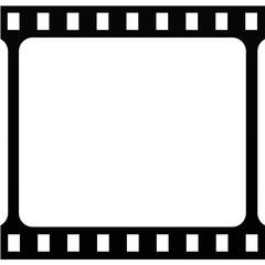 Film stripe vector icon.