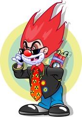evil clown terrorist