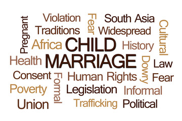 Child Marriage Word Cloud