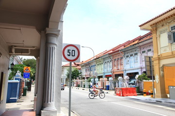 Foto op Plexiglas Singapore Shophouses in Joo Chiat, Singapore