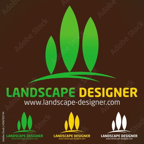 Logo paysagiste jardinier imagens e vetores de stock for Jardinier paysagiste 78