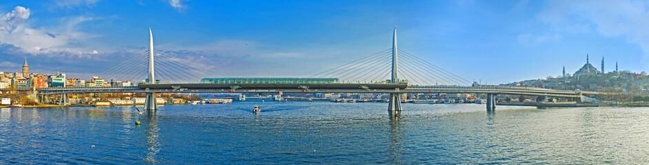 Panorama of the Metro Bridge