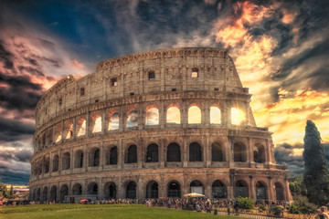 The Colosseum, A gladiators dream. The wonderful and breath taking Colossuem, one of the most famous buildings in the world.