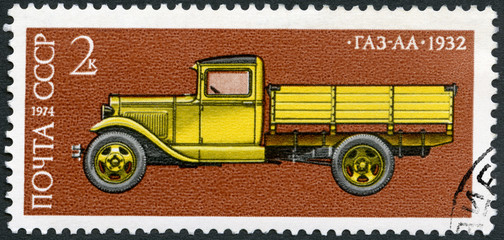 USSR - 1974: shows GAS AA truck, 1932