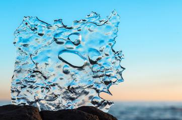Blue ice