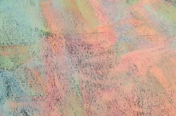 Colorful chalk background