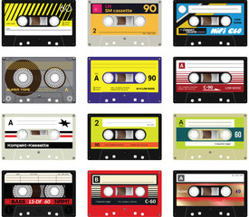 Vintage cassette tapes vol 2