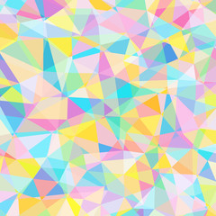 colorful triangle pattern, stained glass texture, mosaic picture, abstract image, vector illustration