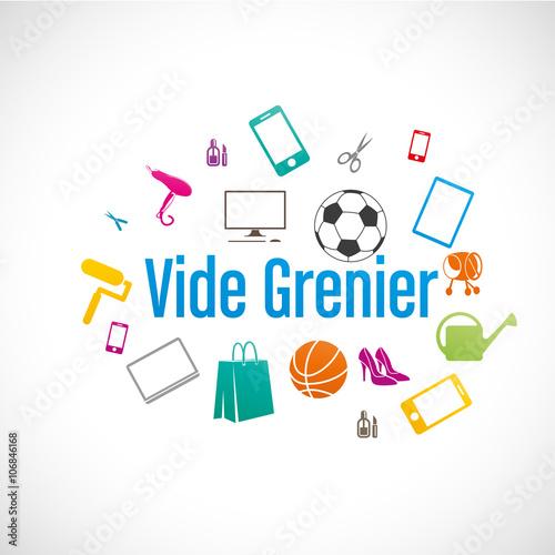 Vide grenier stockfotos und lizenzfreie vektoren auf bild 106846168 - Vide grenier 84 aujourd hui ...