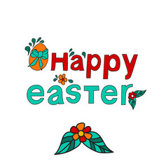 Happy easter card background