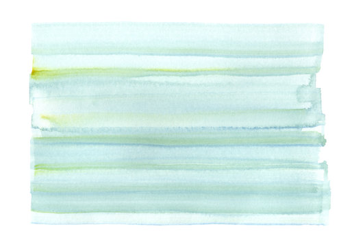Abstract light blue watercolor background