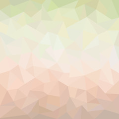 Abstract geometric background with triangular polygons, pastel shades, vector illustration