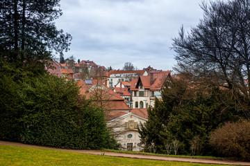 Blick auf die Dächer von Eisenach