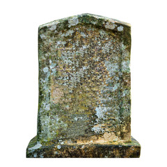 Old ancient tombstone