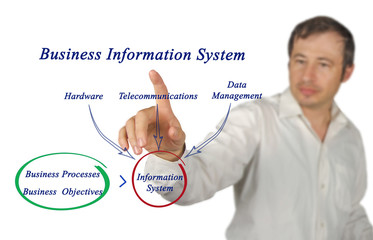 Diagram of Business Information System