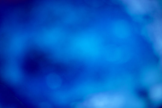 abstract blurred background with a shade of blue