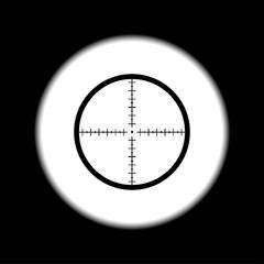 Sight device icon.