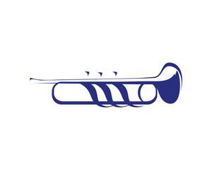 Modern Music Logo Symbol - Drum Corps