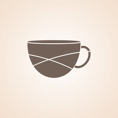 Very Useful Icon of Tea Or Coffee Cup for Web & Mobile. Eps-10.