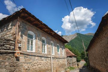 Innovative Yukhari Caravanserai In Sheki Town Azerbaijan