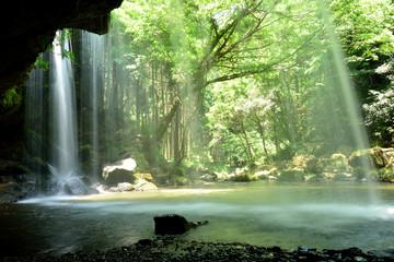 清涼の鍋ケ滝 熊本県 日本
