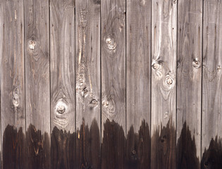 Fototapete - old wooden wall