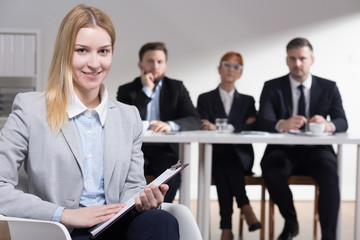 Confidence is the most important on job interview